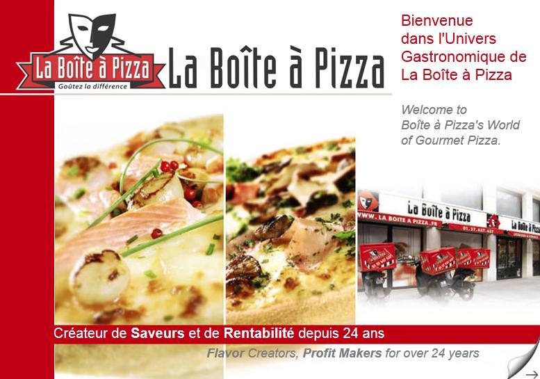 franchise la boite a pizza devenir franchis en pizzria. Black Bedroom Furniture Sets. Home Design Ideas