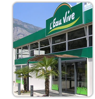 franchise l'Eau Vive magasin