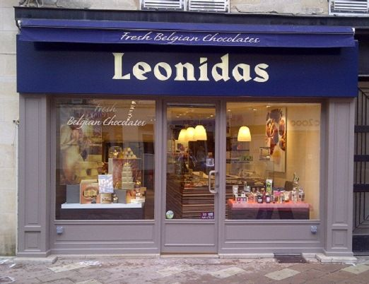 Franchise Leonidas boutique chocolat