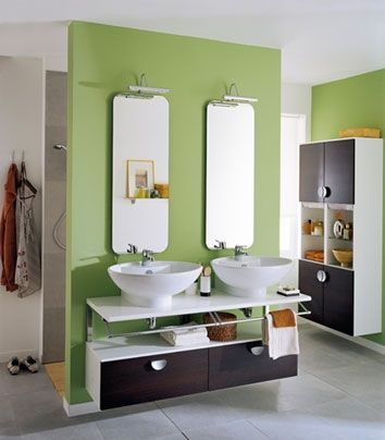 Histoires de salles de bains pour des moments complices - Cuisinella salle de bains ...